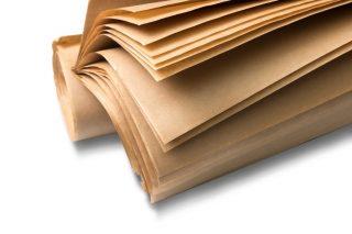 """נייר קרפט חום 70 גרם 95X123 ס""""מ"""
