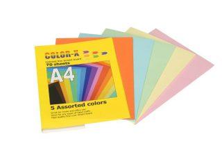חב' מנילה צבעונית A4 בצבעי פסטל