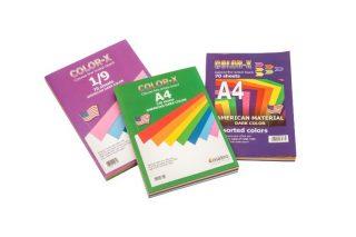 חב' מנילה צבעונית- 140 דף A4