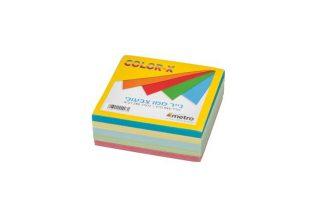 מילוי לקוביה נייר ממו צבעוני