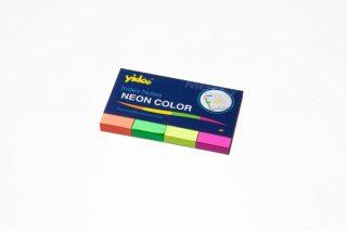 סימניות נייר 4 צבעי זוהרים