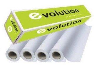 גליל נייר רצף – פלוטר לבן 100 מטר